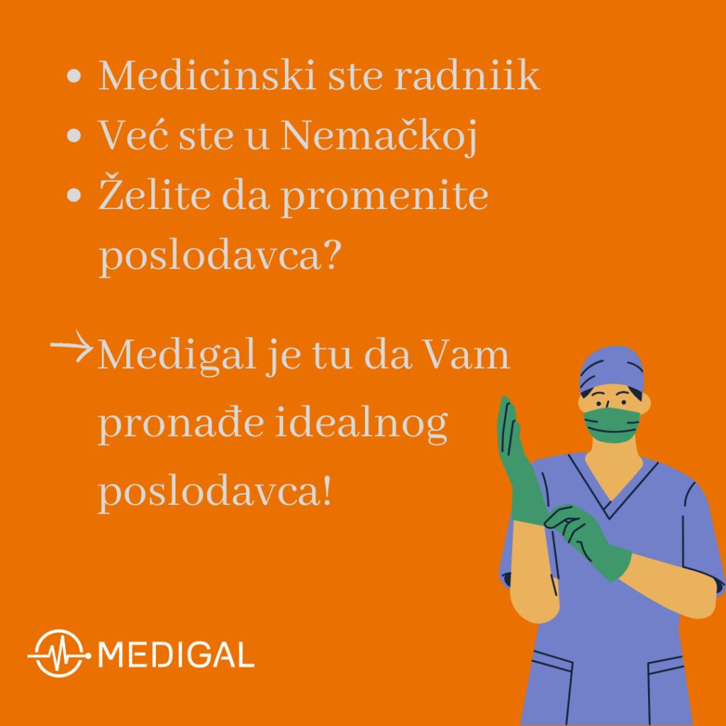 Promena poslodavca za medicinske radnike u Nemačkoj